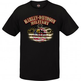 "Harley-Davidson Men's Graphic T-Shirt - ""Willie G Soldier"""