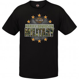 Harley-Davidson Military Graphic T-shirt - Overseas Tour | Military Stars