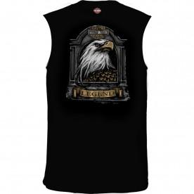 Harley-Davidson Men's Sleeveless Graphic T-Shirt - USAG Stuttgart | Stone Feathers