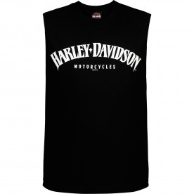 Harley-Davidson Men's Sleeveless Graphic Tee - Camp Leatherneck | Tank Arch