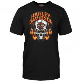 Harley-Davidson Men's Skull Graphic T-shirt - Camp Arifjan | Toasty
