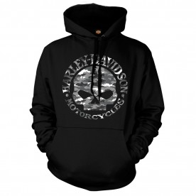 Men's Graphic Pullover Hoodie - Kadena Air Base | Try To Find Me