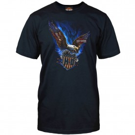 Harley-Davidson Men's Graphic T-Shirt - Camp Foster | Vicious