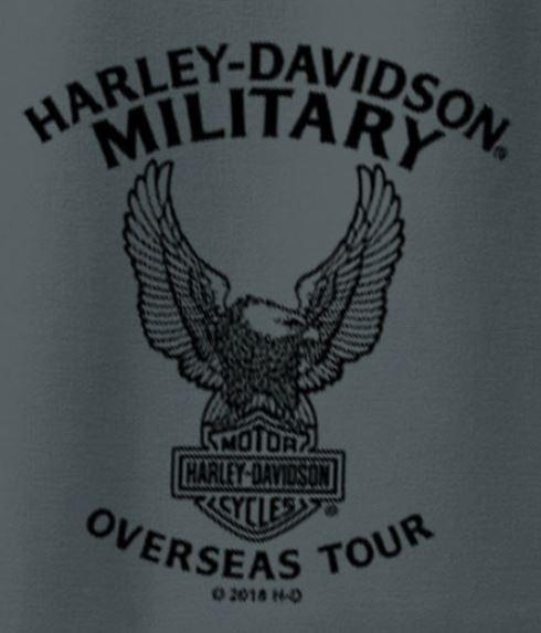 387210afe More Views. Harley-Davidson Military Men s Short-Sleeve Polo Sport Shirt - Overseas  Tour ...