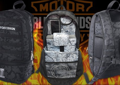 H-D Black Ops Backpack