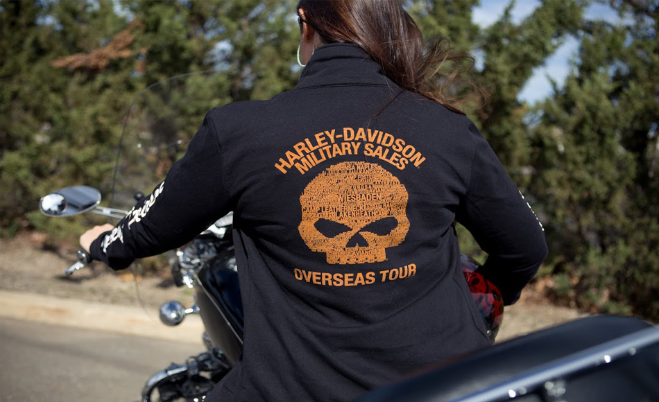Harley-Davidson Military Clothes